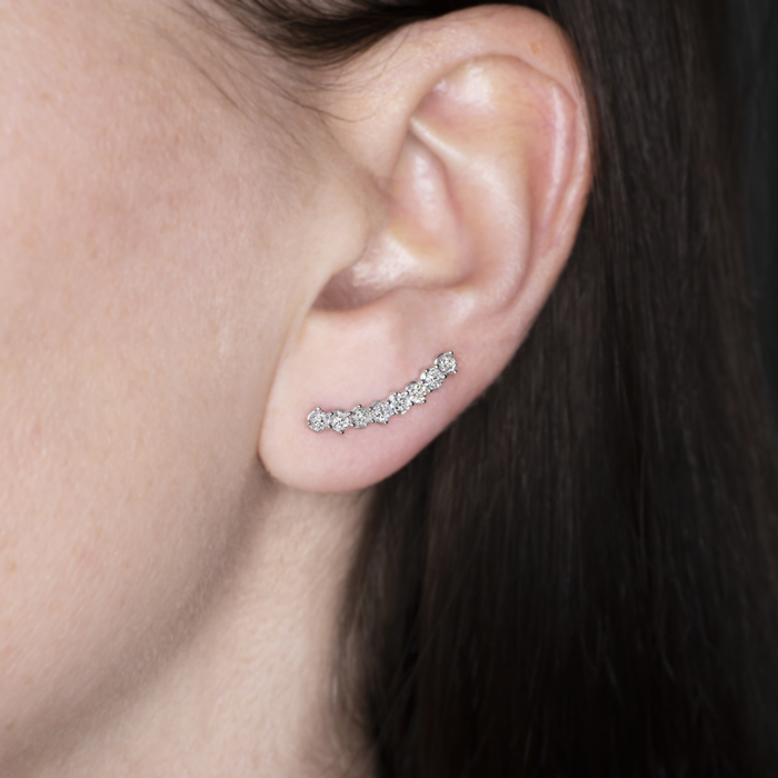 1 CARAT DIAMOND EAR_image